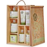 Cosmetics Case 'Classic Line' (Wooden) - La Chinata