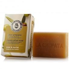 Handcrafted Soap 'Moisturizing' Honey & Shea Butter - La Chinata