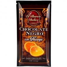 Dark Chocolate with Orange - El Barco Delice (100 g)