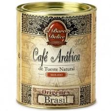Ground Arabica Coffee 'Brazil' - El Barco Delice (250 g)
