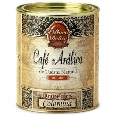 Ground Arabica Coffee 'Colombia' - El Barco Delice (250 g)