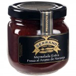 Strawberry with Orange Aroma Jam - Conservas Serrano (235 g)