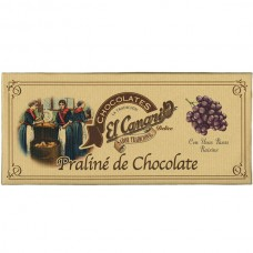 Chocolate Praline with Raisins - El Canario (200 g)