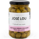 Whole Green 'Pelotin' Olives - José Lou (335 g)