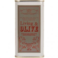 Extra Virgin Olive Oil 'Coupage' - Living & Olive (Can 250 ml)