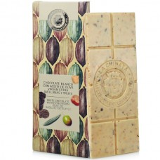 White Chocolate with Hazelnut & Truffle - La Chinata (100 g)