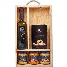 Small Gourmet Case (Wooden) - La Chinata