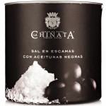 Sea Salt Crystals 'Black Olives' - La Chinata (165 g)
