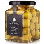 Anchovy-Flavoured Manzanilla Olives - La Chinata (320 g)