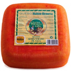 Semi-Cured Cow Cheese 'Mahon-Menorca' - Merco