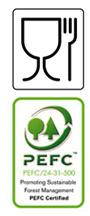Food Safe / PEFC Logo