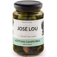 Whole Green 'Campo Real' Olives - José Lou (355 g)