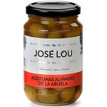Split Green Olives 'Abuela' - José Lou (350 g)
