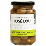 'Manzanilla' Olives Stuffed with Garlic - José Lou (355 g)