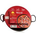 Paella Kit with Paella Pan (30 cm) - La Chinata