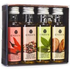 Extra Virgin Olive Oil '4-Flavour Mini Pack' - La Chinata (4 x 25 ml)