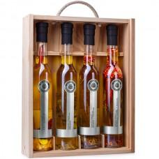 Extra Virgin Olive Oil '4-Flavour Case' - La Chinata (4 x 250 ml)