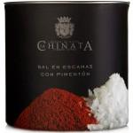 Sea Salt Crystals 'Smoked Paprika' - La Chinata (165 g)