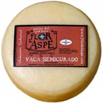 Semi-Cured Cow Cheese - Flor del Aspe